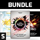 Party Flyer Bundle Vol.4 - GraphicRiver Item for Sale