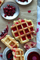 Sweet Waffle With Pomegranate - PhotoDune Item for Sale