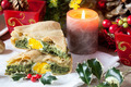 Savory Pie With Christmas Decorations - PhotoDune Item for Sale