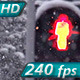 Snow Cyclone on the Streets - VideoHive Item for Sale