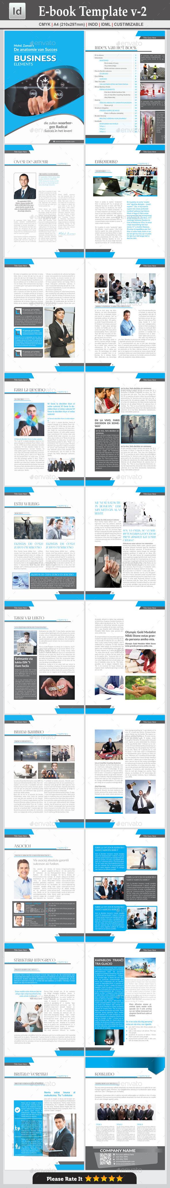 GraphicRiver E-book Template v-2 9807814