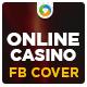 Online Casion Facebook Cover - GraphicRiver Item for Sale