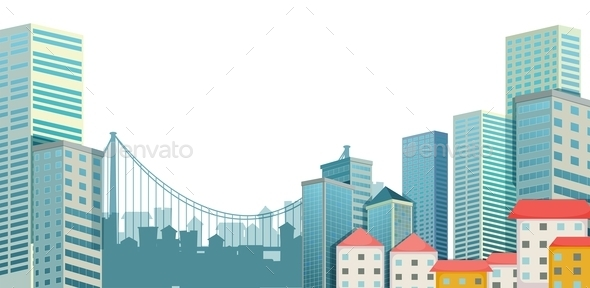 GraphicRiver Urban City 9857879