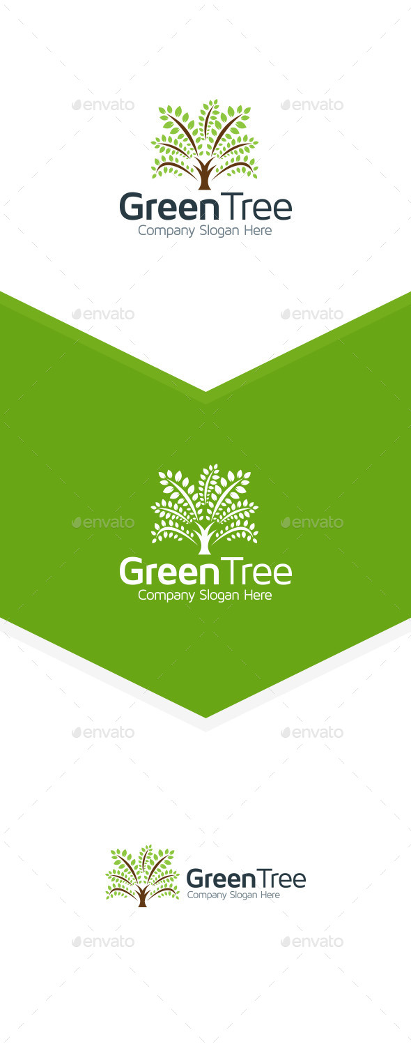 GraphicRiver Tree Logo 9857923