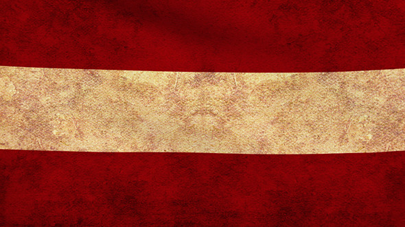 Austria Flag 2 Pack Grunge and Retro