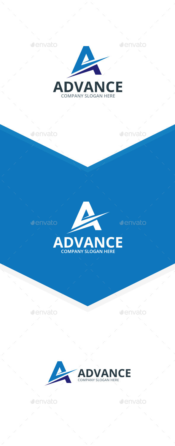 Advance A Letter Logo