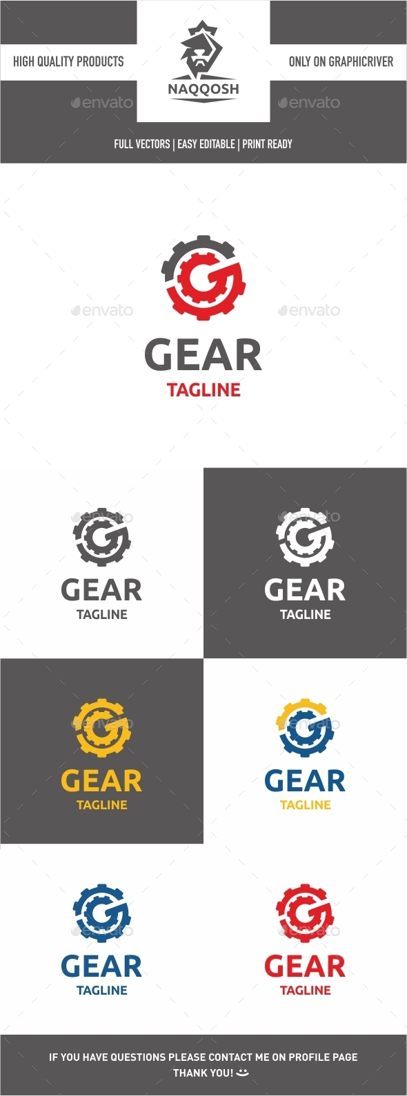 GraphicRiver Gear Logo 9858327
