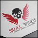 Skull Wings Logo - GraphicRiver Item for Sale