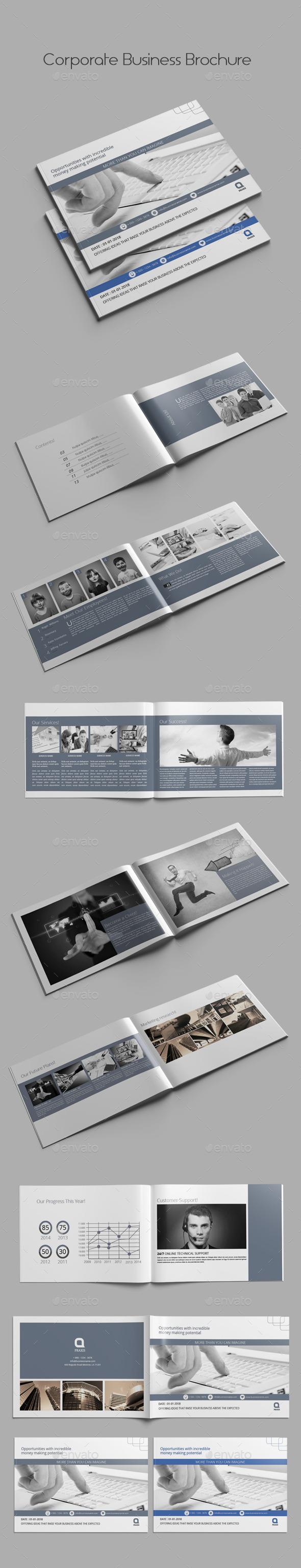GraphicRiver Corporate Business Brochure 9858379