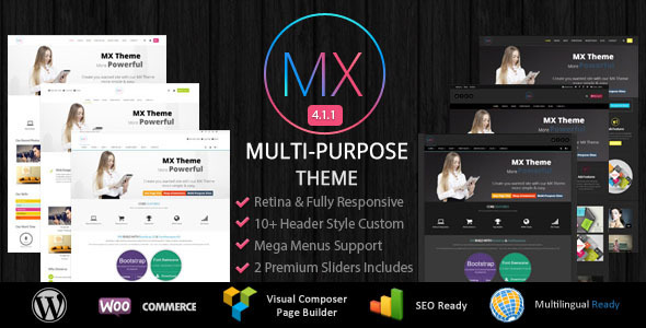 MX - Responsive Multi-Purpose WordPress Theme - Corporate WordPress