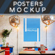 Posters in the City Mock-ups - GraphicRiver Item for Sale