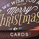 Christmas Photo Card Grunge Vintage - GraphicRiver Item for Sale