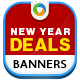 New Year Deal Banners - GraphicRiver Item for Sale