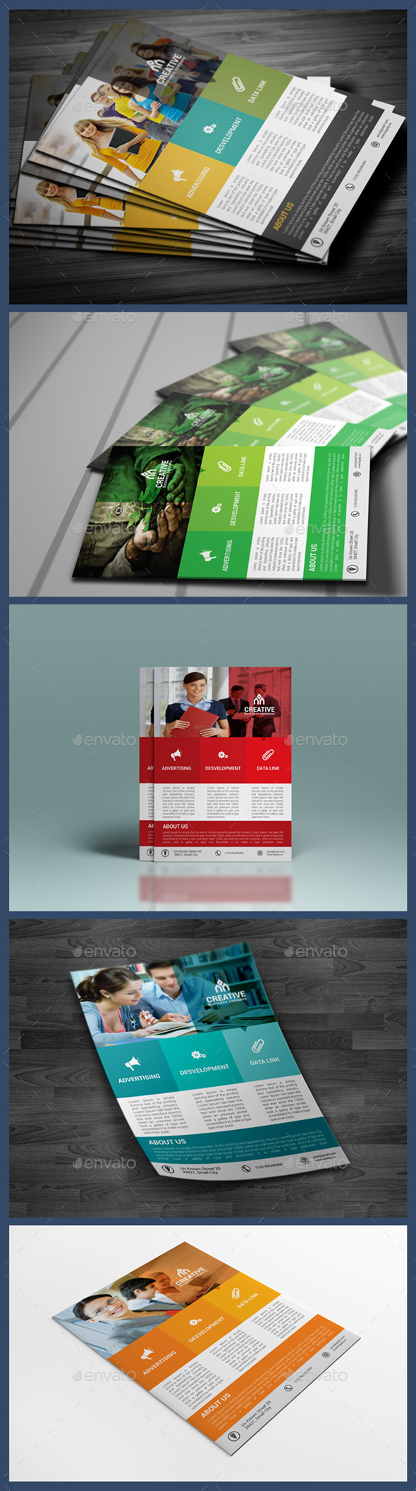 GraphicRiver Creative Corporate Flyer Template 9859508