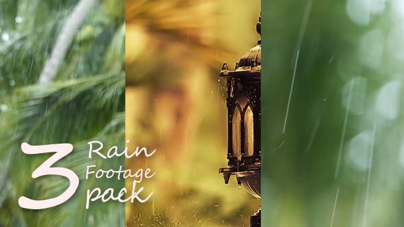 Rain footage Pack