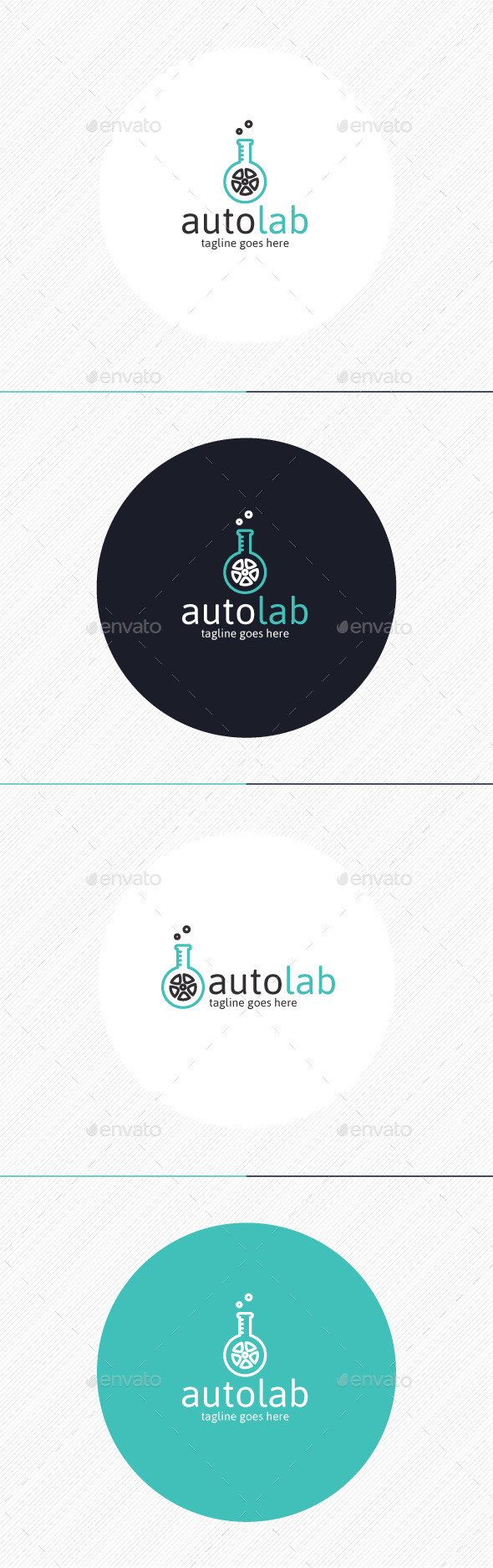 GraphicRiver Auto Lab Logo 9859580