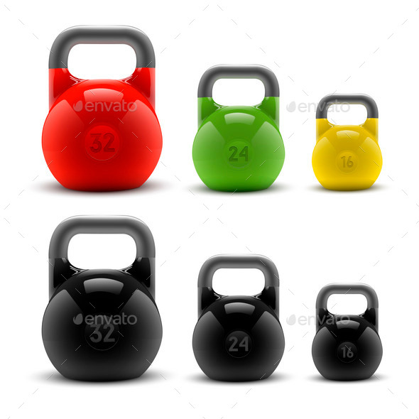 GraphicRiver Kettlebells 9859622