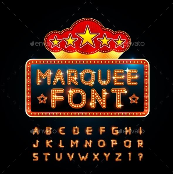GraphicRiver Retro Font 9859880