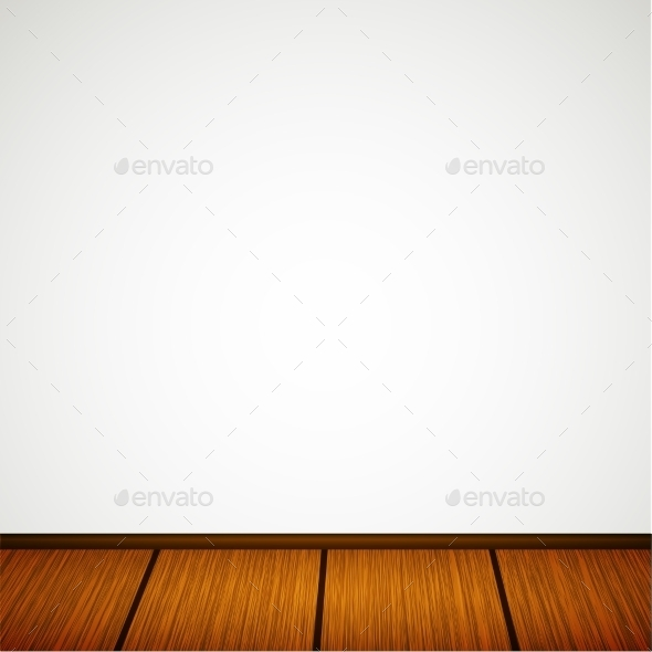 GraphicRiver Wall with Wooden Floor 9860379