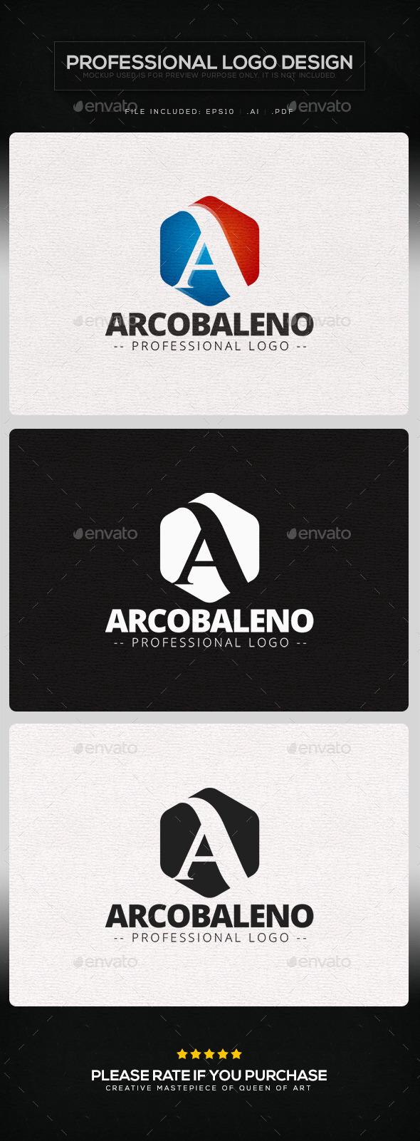 GraphicRiver Arcobaleno Logo Template 9860682