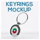 Keyrings Mockup - GraphicRiver Item for Sale