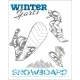 Snowboard Winter Sport - GraphicRiver Item for Sale