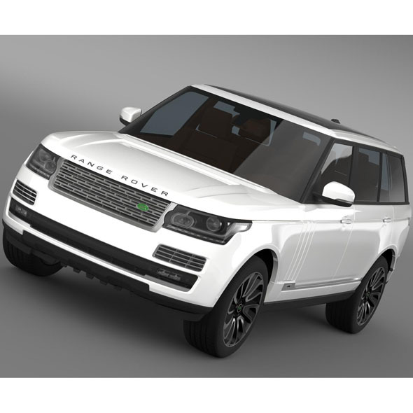 Range Rover Autobiography LWB L405 2014 - 3DOcean Item for Sale