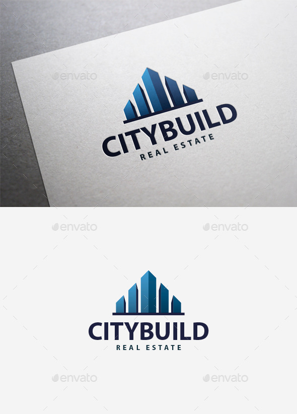 GraphicRiver City Build Logo 9849197