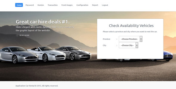 CodeCanyon Application Car Rental 9861898
