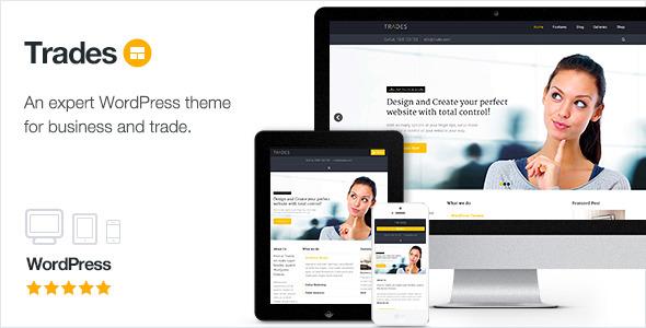 Trades - Multi-Purpose Business WordPress Theme