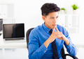 Young asian businessman  thinking plan in the office - PhotoDune Item for Sale