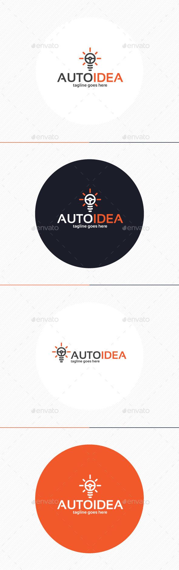 GraphicRiver Auto Idea Logo 9862033