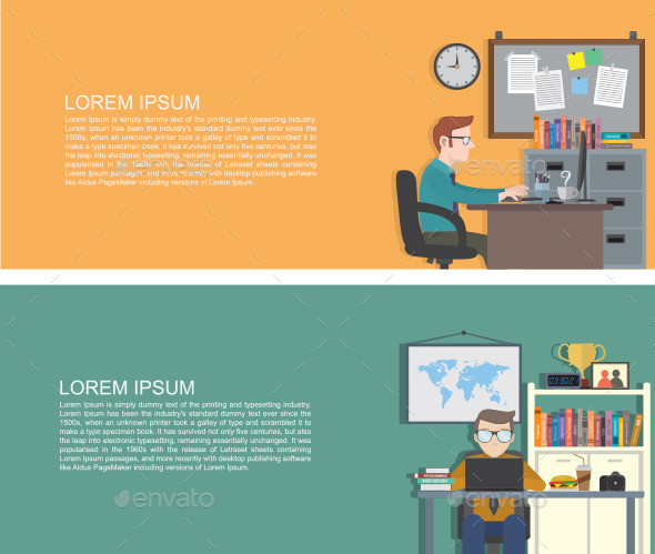 GraphicRiver Workplace 9862037