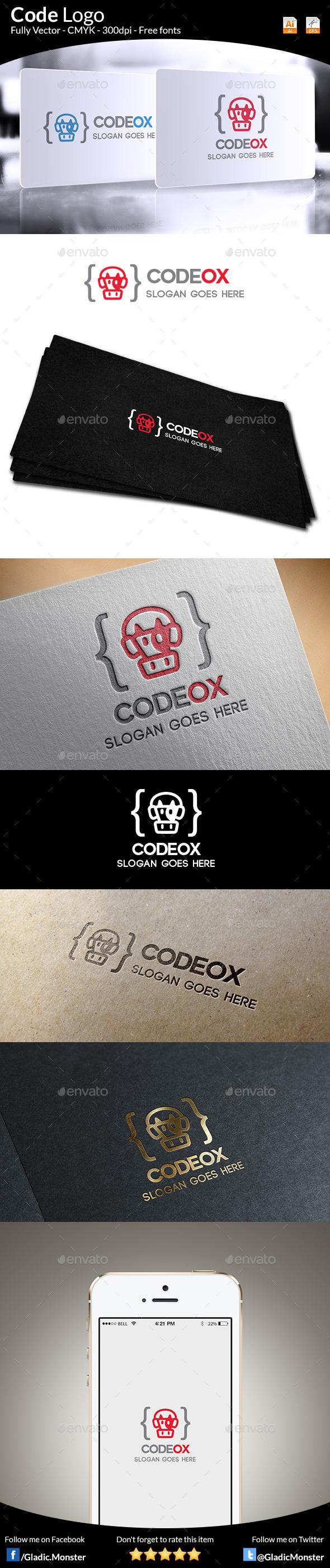 GraphicRiver Code Logo 9862200