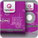 Nexden CD Sleeve & Sticker - GraphicRiver Item for Sale
