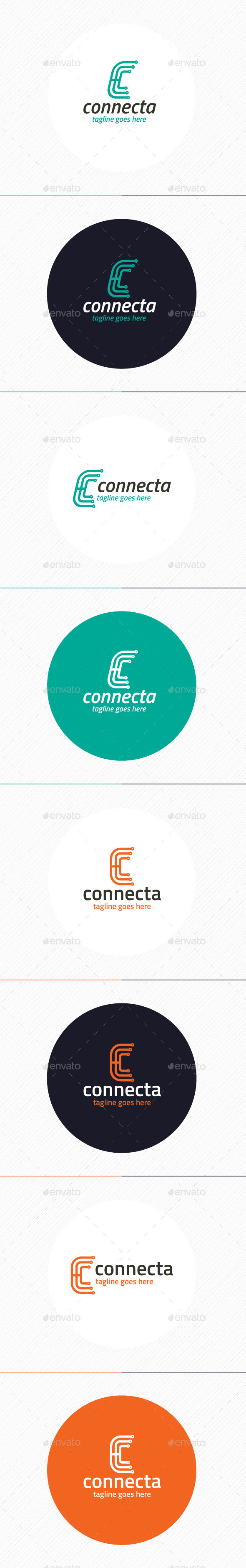 Connecta Logo Letter C