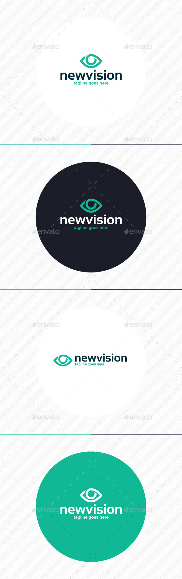 GraphicRiver New Vision Logo 9862454