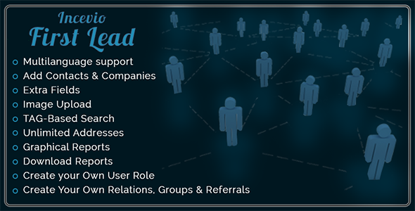 CodeCanyon Incevio First Lead Contacts and Lead Management 9839071