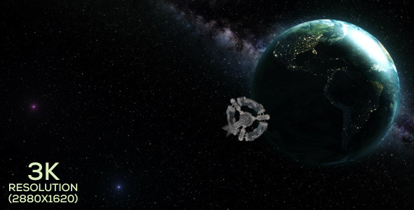 Arrival at Earth Compositing Pack