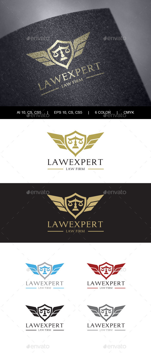 GraphicRiver Law Firm Logo 9862705