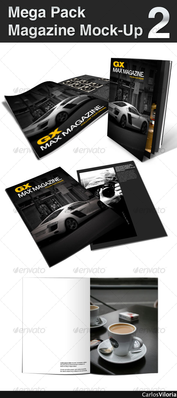 Mega Pack Magazine Mock-Up 2