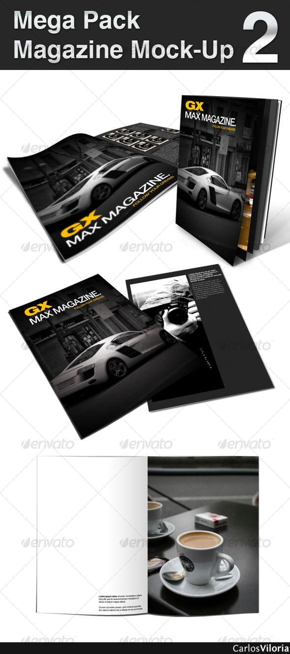 GraphicRiver Mega Pack Magazine Mock-Up 2 100854