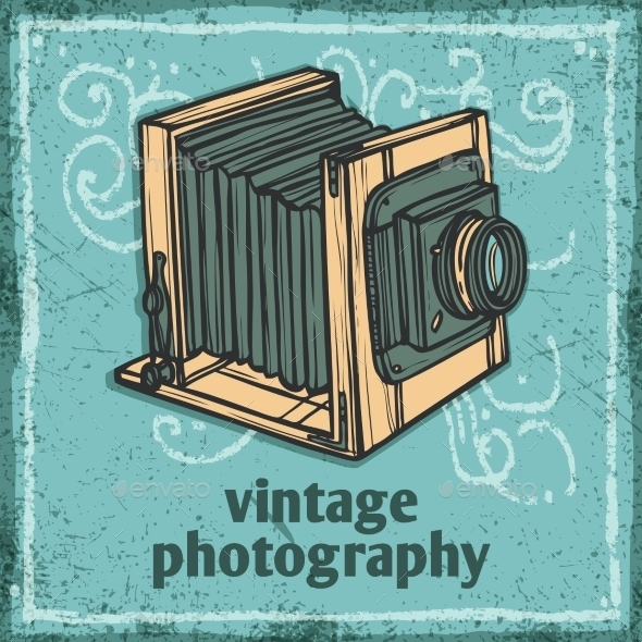 GraphicRiver Retro Camera Poster 9862767