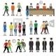 University People Avatars - GraphicRiver Item for Sale
