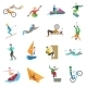 Extreme Sports Icons - GraphicRiver Item for Sale