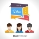 Brainstorming Concept Illustration - GraphicRiver Item for Sale