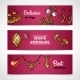Jewelry Banners Set - GraphicRiver Item for Sale