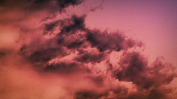 Dramatic Evening Clouds