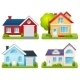 Private Houses Set - GraphicRiver Item for Sale