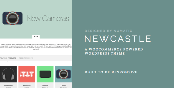Newcastle - A WooCommerce Powered WordPress Theme